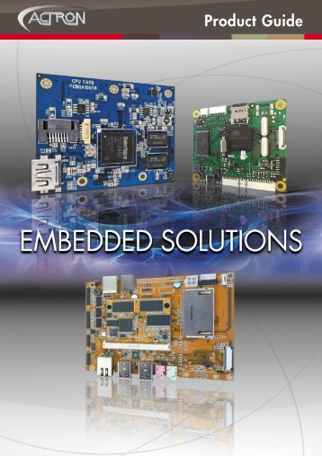 ACTRON Embedded Solu.. - Actron AG