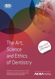 The Art, Science and Ethics of Dentistry - Dental Hygienists ...