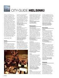 CITY-GUIDE HELSINKI