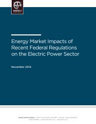 Nov-2014.-EVA-Energy-Market-Impacts-of-Recent-Federal-Regulations-on-the-Electric-Power-Sector