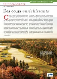 Québec Vert - Association des Surintendants de Golf du Québec