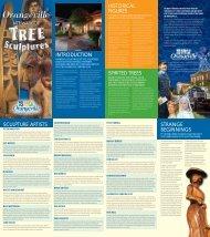 Art Walk of Tree Sculptures Brochure - Orangeville Tourism