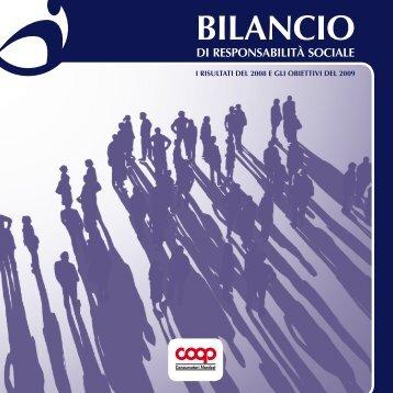 Bilancio Sociale 2008 - Impronta Etica