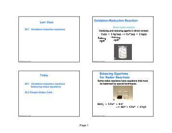 oxidation reduction redox balancing method of half reactions. Black Bedroom Furniture Sets. Home Design Ideas