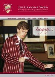 08052013 - Ipswich Grammar School