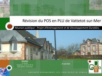 POS en PLU - Villages76