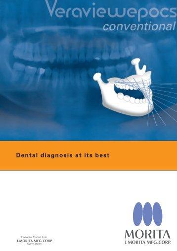 Dental diagnosis at its best - morita