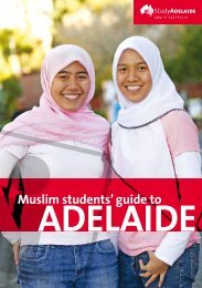 Muslim students' guide to - Study Adelaide