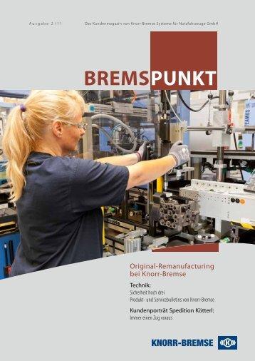 Bremspunkt Heft 02/2011 [PDF, 3 MB] - Knorr-Bremse