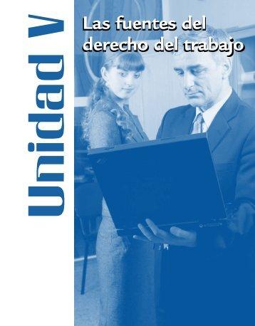 Las fuentes del derecho del trabajo Las fuentes del derecho del ...