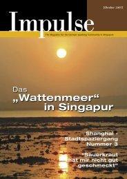 Touren – Veranstaltungen anmelden ... - Impulse Singapur