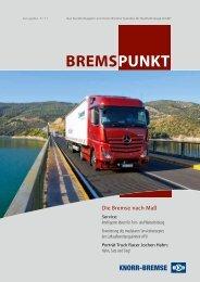 Bremspunkt Heft 03/2011 [PDF, 2 MB] - Knorr-Bremse