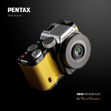 PRESS RELEASE - Pentax