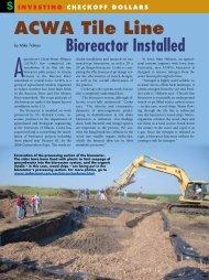 aCWa tile line Bioreactor Installed - The Iowa Soybean Association