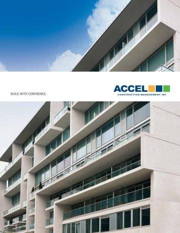 Brochure Download - ACCEL CONSTRUCTION MANAGEMENT INC
