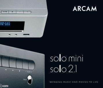 Solo Mini 2.1 - Music Matters