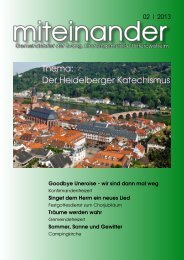 miteinander 02   2013 - evangelisch in Unteröwisheim