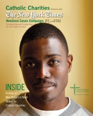 INSIDE - Catholic Charities of the Archdiocese of New York