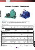 2X 2XZ Rotary Vacuum Pump - V-FLO - Page 2