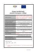 Eiropas Sociālā fonda projekta iesnieguma veidlapa - Page 6