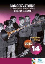 sa nouvelle plaquette pour la rentrée 2013-2014 - Saint-Nazaire