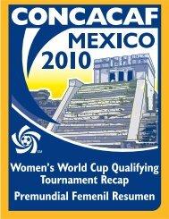 Womens World Cup Qualifier 2010 - CONCACAF.com