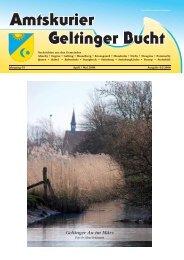 Amtskurier Geltinger Bucht - Steinbergkirche