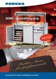 Ny innovation för modern varmhållning av livsmedel! - Porkka