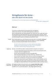 Stringtheorie für Arme - - Abenteuer Universum