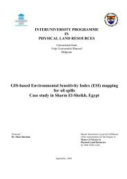 Mapping Environmental sensitivity index of the Niger delta to oil