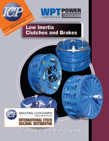Low Inertia Catalogue - Industrial Clutch Parts Limited