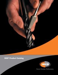 2007 Product Catalog - Cutting Tool Engineering