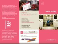 Membership - Action Ambulance Service Inc.