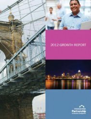 Cincinnati USA 2012 Growth Report
