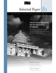 Interest Group Competition and the Organization of Congress