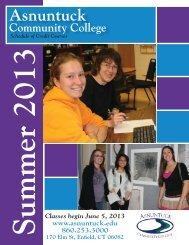 6:30 pm - Asnuntuck Community College