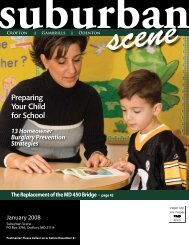 Preparing Your Child for School - Suburban Scene