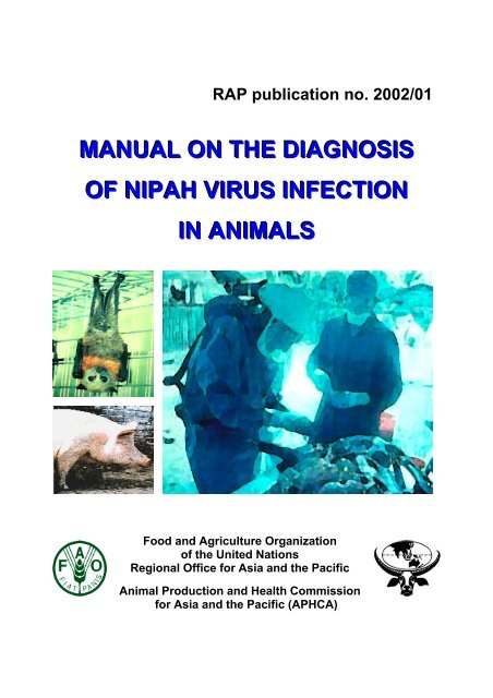 manual on the diagnosis of nipah virus infection in animals