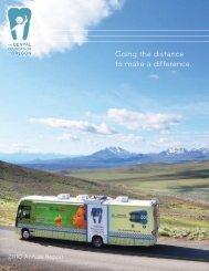 The Dental Foundation of Oregon (DFO) Annual Report - OEA Choice