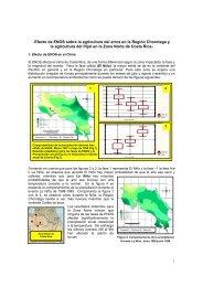 El Niño y la producción de arroz y frijoles - Instituto Meteorológico ...