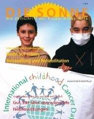 DIE SONNE 01/2004 - Österreichische Kinder-Krebs-Hilfe