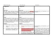 Synopse (Gegenüberstellung alt/neu) inkl. Satzung - Gemeinde ...