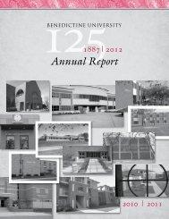 Annual Report - Ben - Benedictine University