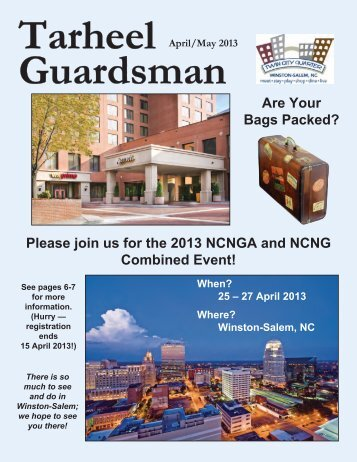 APR/MAY 2013 - ncnga