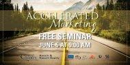 free seminar june 5 at 9:00 am