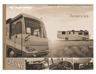 Floor Plans, Standard Features And Options - Fleetwood RV