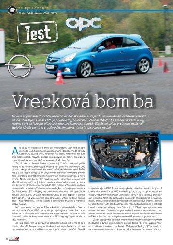 Test: Opel Corsa OPC - AutoTuning.sk