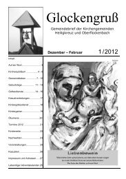 Lebendiger Adventskalender 2011 - glockengruss.de