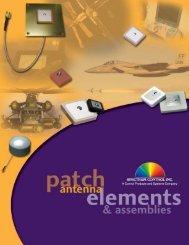 Patch Antenna Catalog - Spectrum Control