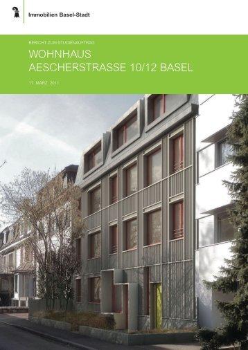 WohnhauS aeScherStraSSe 10/12 BaSel - Immobilien Basel-Stadt